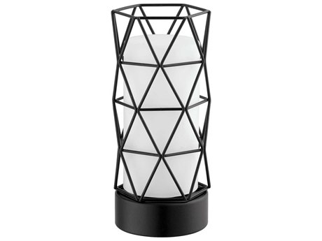 Eglo Estevau 2 Matte Black Table Lamp EGL202362A