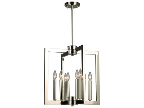 Eglo Jordan Polished Nickel 19'' Wide Pendant