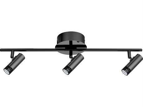 Eglo Lianello Black Chrome Three-Light 23'' Long LED Track Light EGL201226A