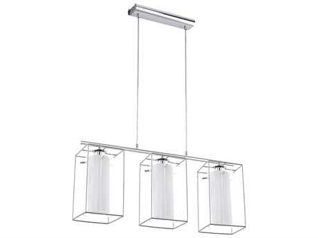 Eglo Loncino I Chrome Three-Light 30'' Long Island Light EGL94378A