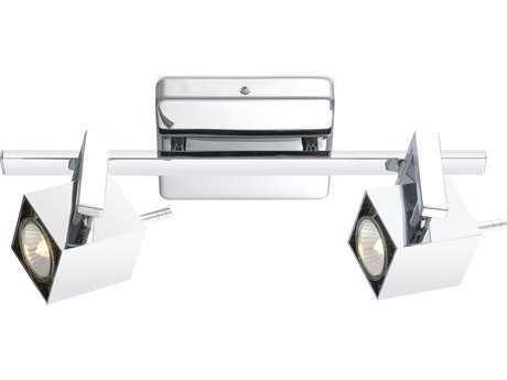 Eglo Manao Chrome Two-Light Track Light EGL90523A