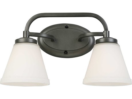 Eglo Mayview Graphite Two-Light Vanity Light EGL202909A