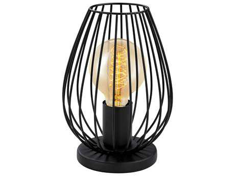 Eglo Newtown Matte Black Table Lamp EGL49481A