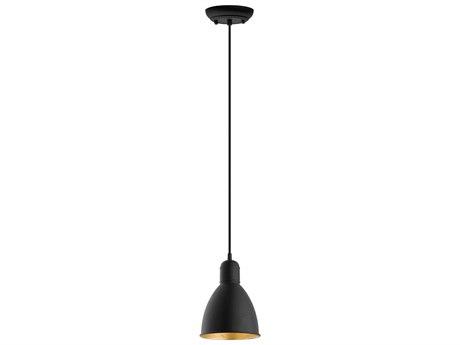 Eglo Priddy Black/gold 6'' Wide Mini Pendants