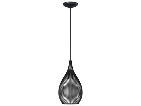 Eglo Razoni Black 7.5'' Wide Pendant Light EGL92252A