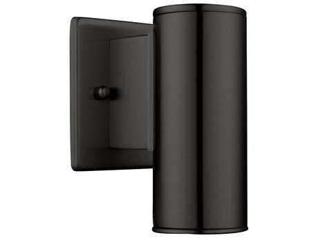 Eglo Riga Matte Black Outdoor Wall Light