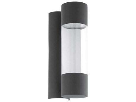 Eglo Robledo Anthracite Two-Light LED Outdoor Wall Light EGL96014A