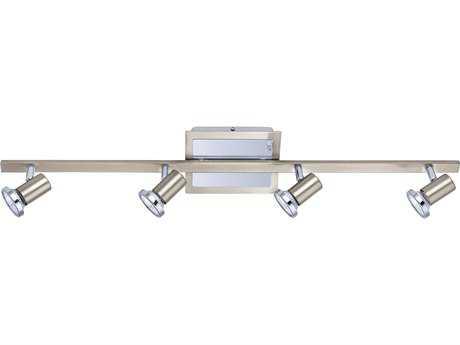 Eglo Rottelo Matte Nickel & Chrome Four-Light Track Light EGL200094A