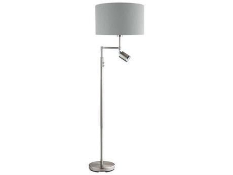 Eglo Santander Matte Nickel Floor Lamp EGL201828A
