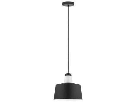 Eglo Tabanera Black & White 10'' Wide Mini Pendant Light