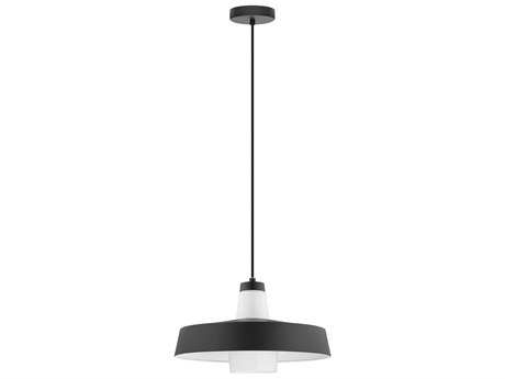 Eglo Tabanera Black & White 14'' Wide Pendant Light EGL96803A