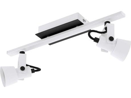 Eglo Trillo White / Black 15'' Wide LED Track & Rail Light EGL97372A