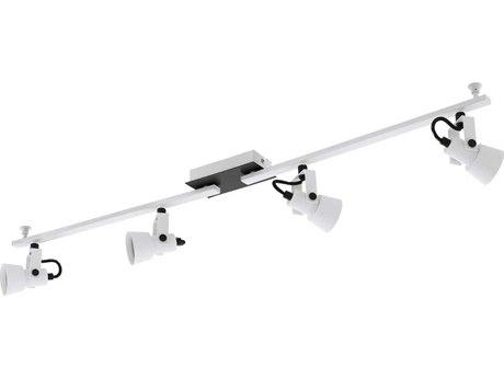 Eglo Trillo White / Black 38'' Wide LED Track & Rail Light EGL97374A