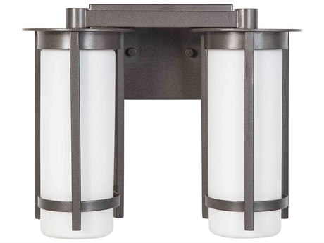 Eglo Truxton Graphite Two-Light Vanity Light EGL203119A