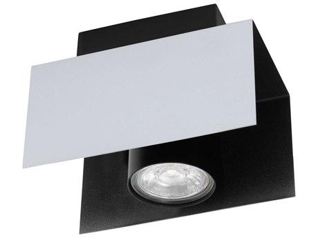 Eglo Viserba Aluminum / Black 4'' Wide LED Track & Rail Light EGL97394A