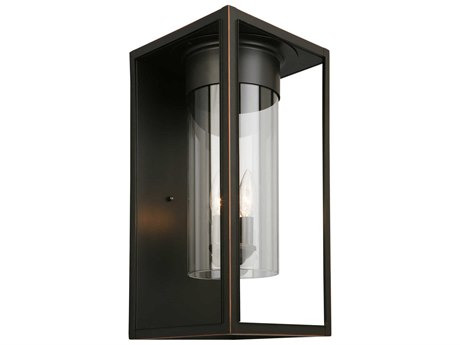 Eglo Walker Hill Oil Rubbed Bronze Outdoor Wall Light EGL203034A