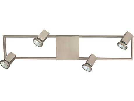 Eglo Zeraco Satin Nickel Four-Light 28'' Long Track Light EGL93678A