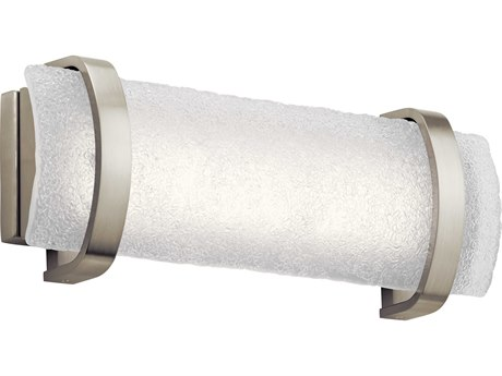 Elan Adara Brushed Nickel 19'' Wide LED Vanity Light ELA83877