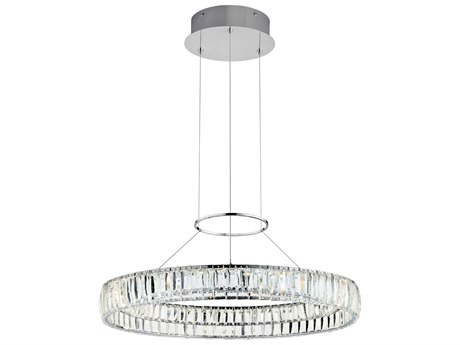 Elan Annette Chrome 26'' Wide LED Pendant Light ELA83625