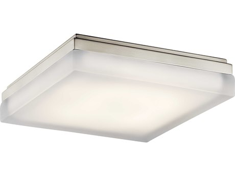 Elan Arston Brushed Nickel 12'' Wide LED Flush Mount ELA83801