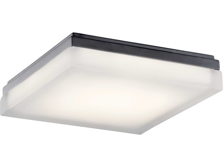 Elan Arston Bronze 12'' Wide LED Flush Mount ELA83802