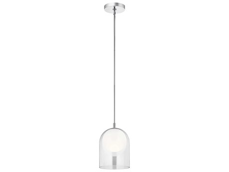 Elan Beryl Chrome 10'' Wide LED Mini-Pendant Light ELA84110