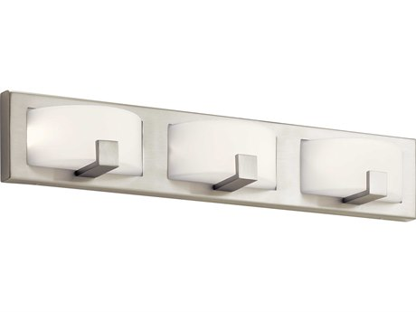 Elan Bethwin Brushed Nickel Three-Light 26'' Wide LED Vanity Light ELA83892