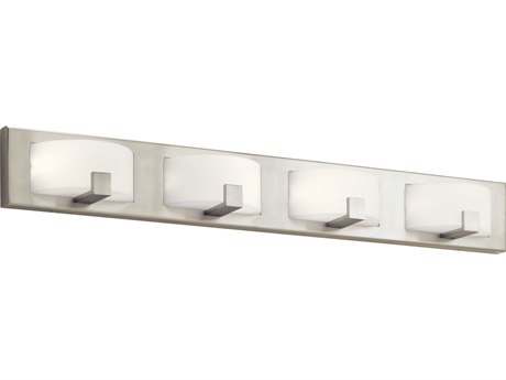 Elan Bethwin Brushed Nickel Four-Light 36'' Wide LED Vanity Light ELA83893