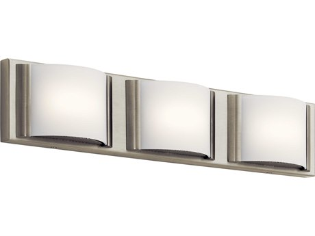 Elan Bretto Brushed Nickel Three-Light 23'' Wide LED Vanity Light ELA83818