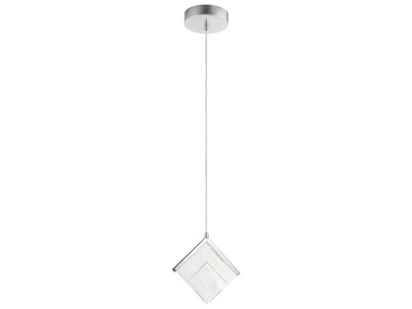 Elan Carbon Chrome 9'' Wide LED Mini-Pendant Light ELA84118