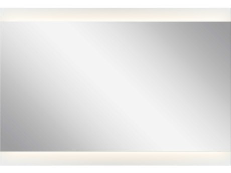 Elan Frosted 39''W x 27''H Rectangular LED Backlit Wall Mirror ELA83997