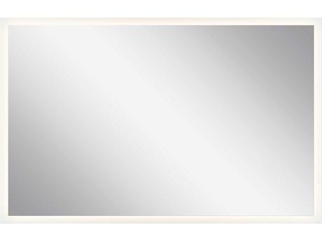 Elan Frosted 39''W x 25''H Rectangular LED Backlit Wall Mirror ELA83998