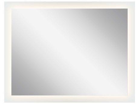 Elan Frosted 54''W x 42''H Rectangular LED Backlit Wall Mirror ELA84003