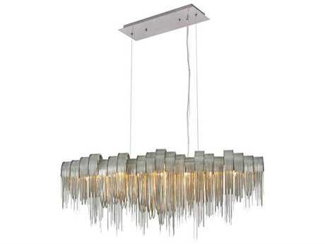 Elegant Lighting Blythe Chrome Seven-Light 46'' Long Island Light EG1505G46C