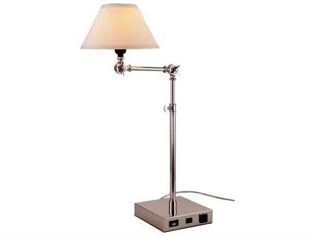 Elegant Lighting Brio Polished Nickel Buffet Lamp