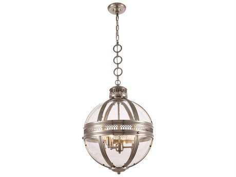 Elegant Lighting Casanova Satin Nickel Three-Light 18'' Wide Mini Chandelier EG1700D18SN