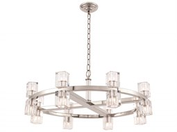 Urban Classic by  Burnished Brass 16-Light 32'' Wide Pendant Light