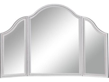Elegant Decor by Elegant Lighting Silver Paint 37'' Wide Dresser Mirror