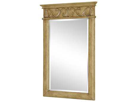 Elegant Lighting Antique Beige 25''W x 36''H Vanity Mirror EGVM1002