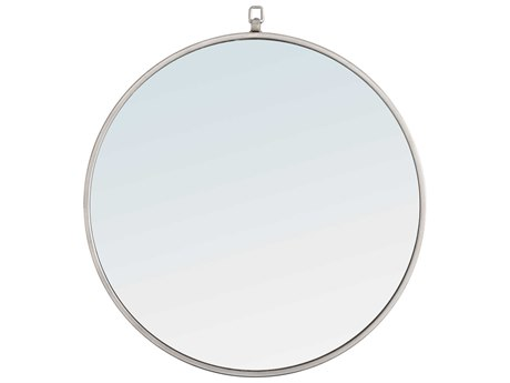 Elegant Lighting Eternity Silver Wall Mirror