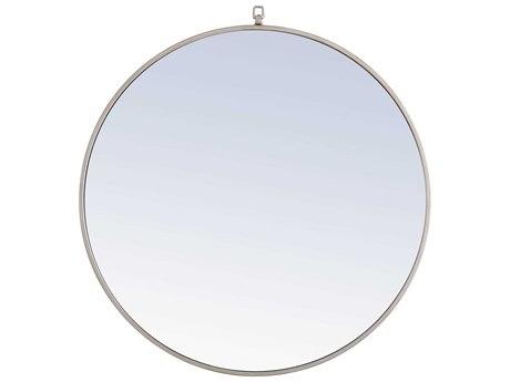 Elegant Lighting Eternity Silver Wall Mirror