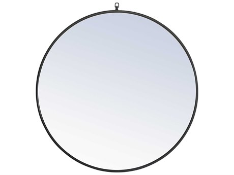 Elegant Lighting Eternity Black Wall Mirror EGMR4061BK