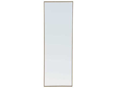 Elegant Lighting Eternity Brass Wall Mirror