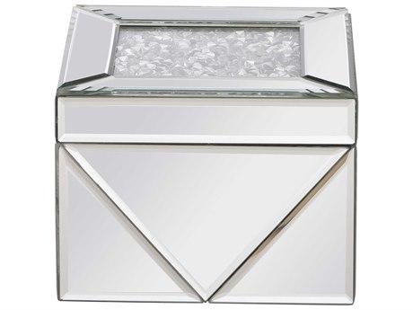 Elegant Lighting Modern Clear Mirror Jewelry Box EGMR9210