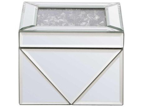 Elegant Lighting Modern Clear Mirror Jewelry Box EGMR9212