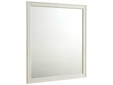 Elegant Lighting Lexington Antique White Wall Mirror