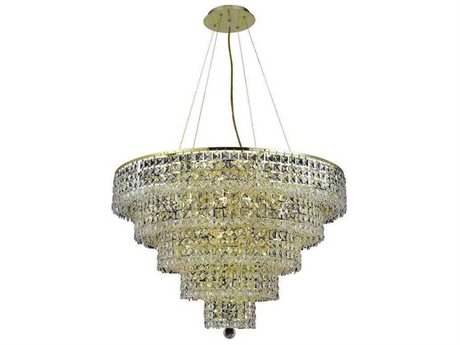 Elegant Lighting Maxime 13-Light 20'' Wide Mini Chandelier EG2039D20