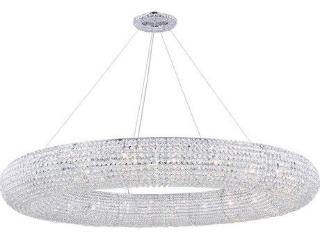 Elegant Lighting Paris Chrome 30''-Light 71 Wide Pendant Light EG2114G71CRC