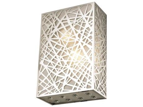 Elegant Lighting Prism Royal Cut Chrome & Crystal Two-Light Wall Sconce EG2078W8C