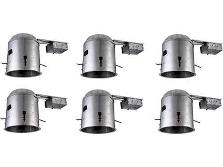 Elitco by Elegant Lighting Glossy White 14'' Wide Recessed Housing EGTC6RE266PK